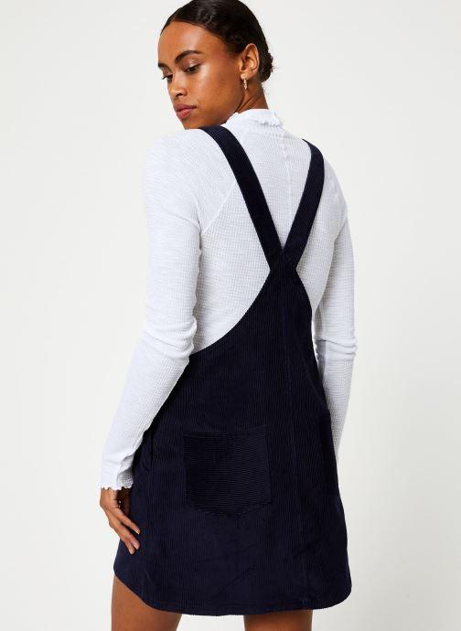 Vêtements Marie Sixtine DRESS LUCE Bleu vue portées chaussures