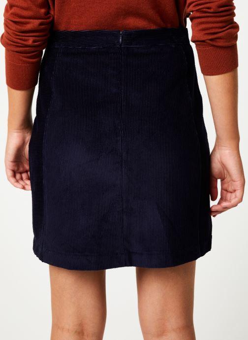 Vêtements Marie Sixtine SKIRT MAY Bleu vue portées chaussures