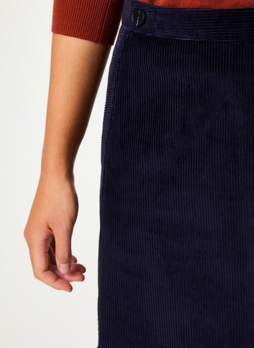 Vêtements Marie Sixtine SKIRT MAY Bleu vue face