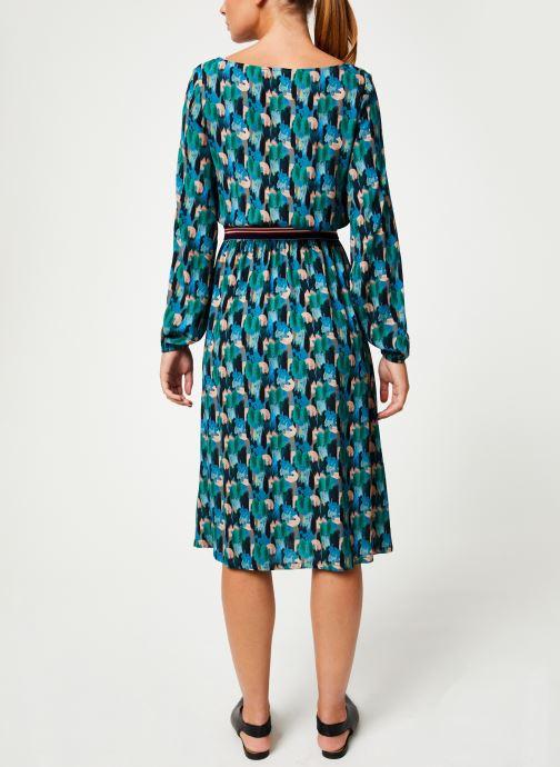 Vêtements Marie Sixtine DRESS MATHILDE Vert vue portées chaussures
