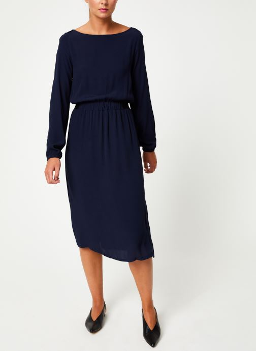 Vêtements Marie Sixtine DRESS MATHILDE Bleu vue bas / vue portée sac