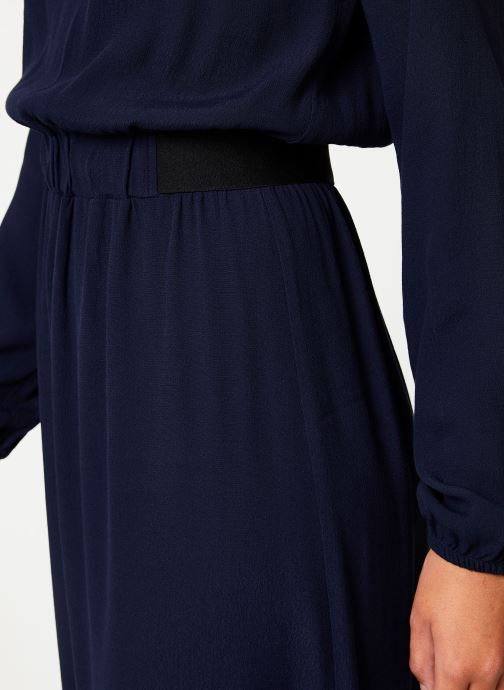 Vêtements Marie Sixtine DRESS MATHILDE Bleu vue face