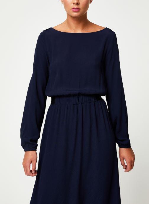 Kleding Marie Sixtine DRESS MATHILDE Blauw detail
