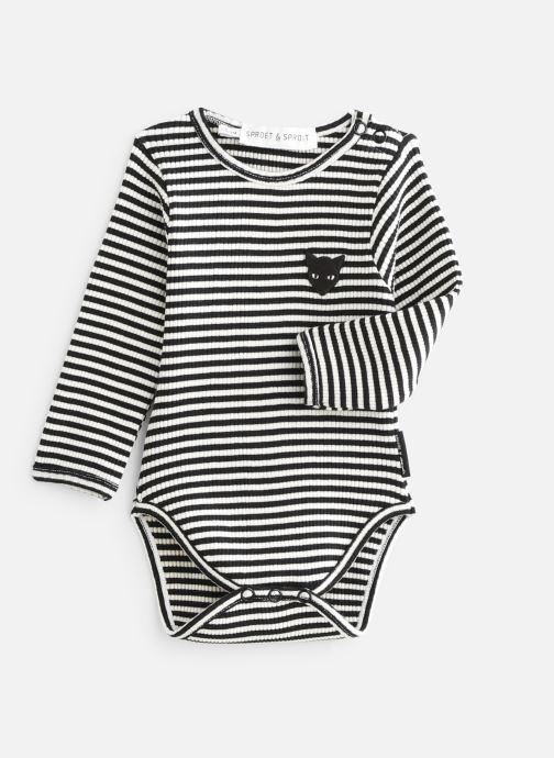 Vêtements Sproet & Sprout Romper Rib Jersey Noir vue détail/paire