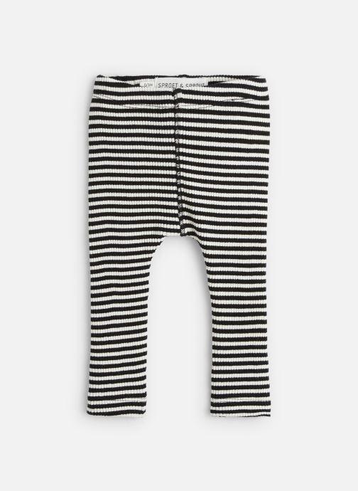 Vêtements Sproet & Sprout Legging Rib Jersey Gris vue détail/paire