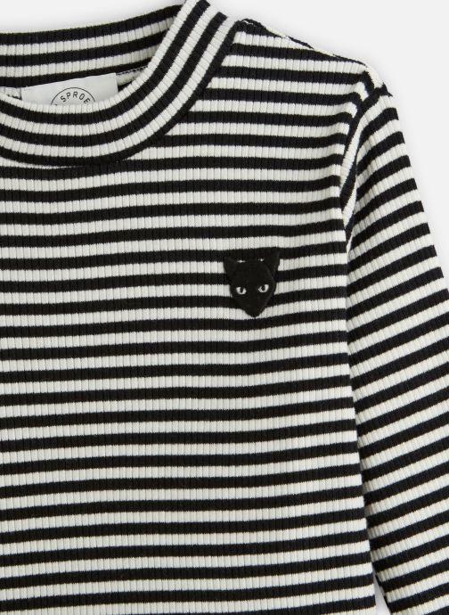 Vêtements Sproet & Sprout T-Shirt Jersey Noir vue portées chaussures