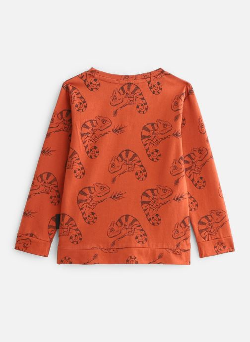 Vêtements Sproet & Sprout T-Shirt Chameleon Orange vue détail/paire