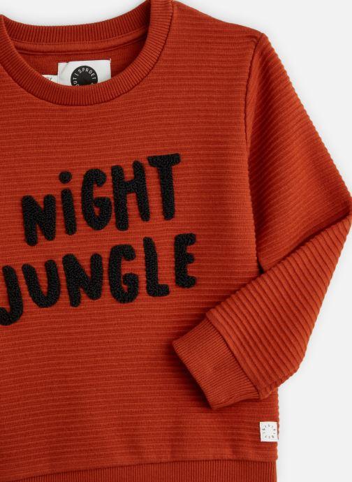 Vêtements Sproet & Sprout Sweatshirt Night Jungle Orange vue portées chaussures
