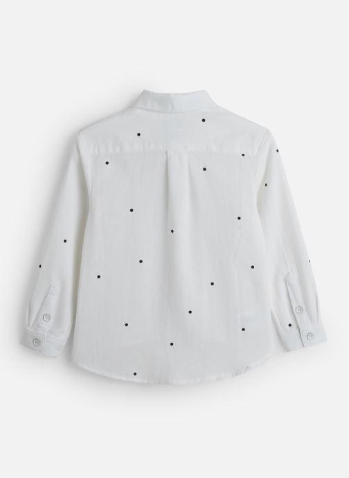 Vêtements Sproet & Sprout Woven Blouse Dots Blanc vue bas / vue portée sac