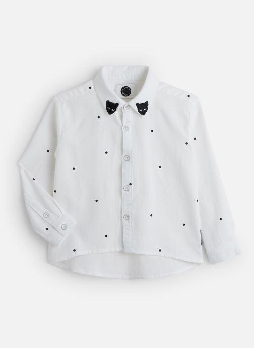 Vêtements Sproet & Sprout Woven Blouse Dots Blanc vue détail/paire