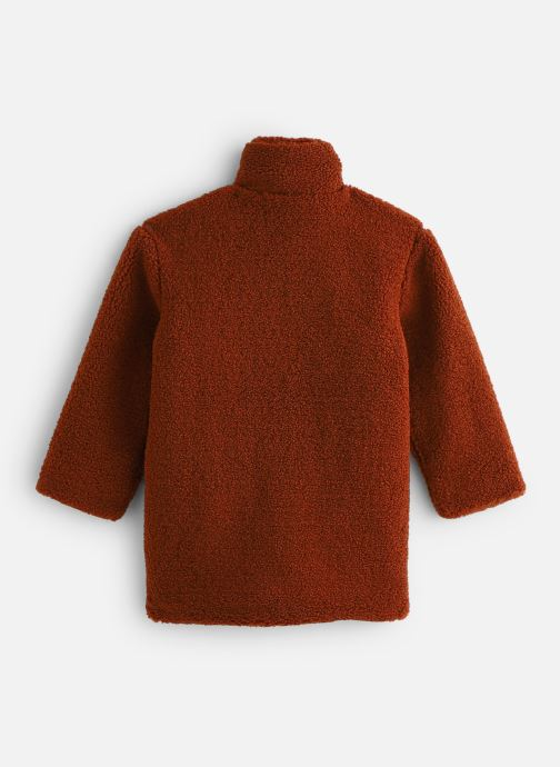 Vêtements Sproet & Sprout Terry Coat Panther Marron vue bas / vue portée sac