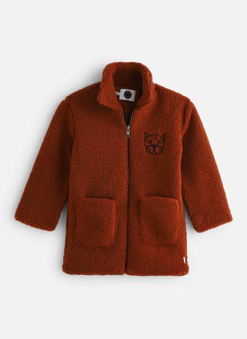 Vêtements Sproet & Sprout Terry Coat Panther Marron vue détail/paire