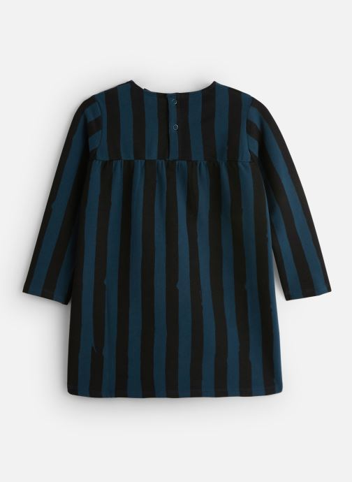 Kleding Sproet & Sprout Sweat Dress Painted Stripe Blauw onder