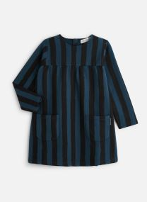 Sweat Dress Painted Stripe