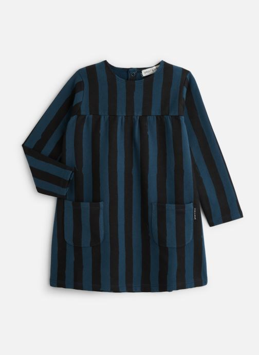 Kleding Sproet & Sprout Sweat Dress Painted Stripe Blauw detail