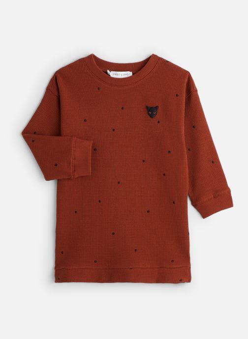 Vêtements Sproet & Sprout Sweat Dress Dots Marron vue détail/paire