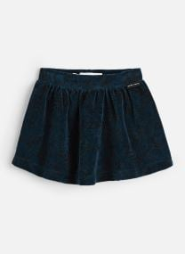 Velvet Skirt Tropical