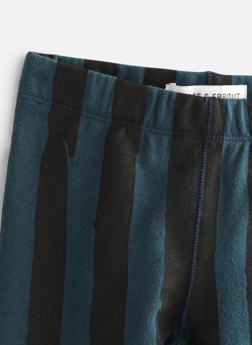Vêtements Sproet & Sprout Sweat Legging Painted Stripe Bleu vue portées chaussures