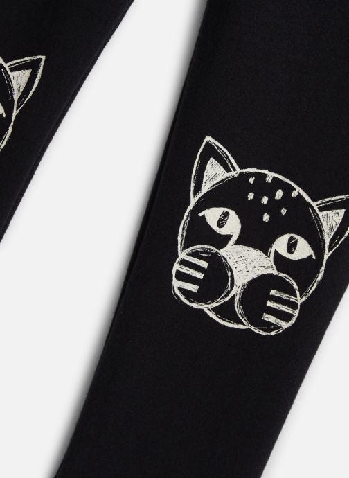 Vêtements Sproet & Sprout Sweat Legging Panther Head Noir vue portées chaussures