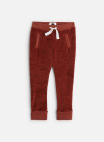 Velvet Sweatpants Dots