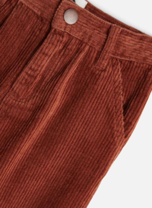 Vêtements Sproet & Sprout Corduroy Flair Pants Marron vue portées chaussures