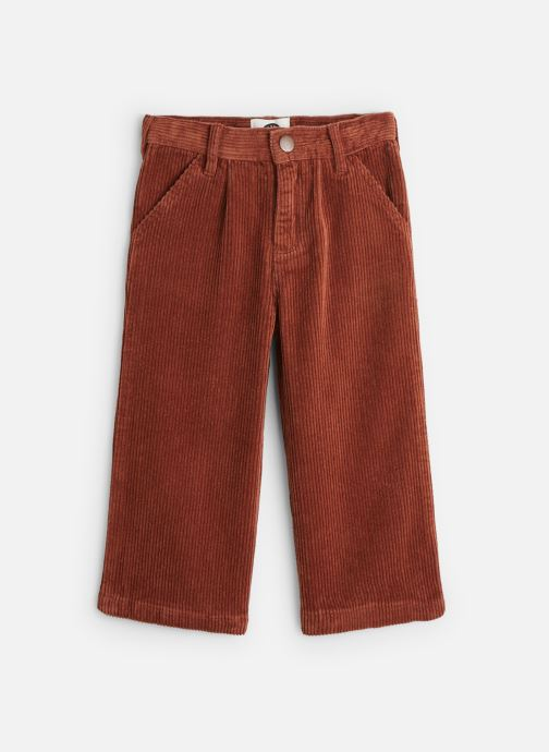 Vêtements Sproet & Sprout Corduroy Flair Pants Marron vue détail/paire
