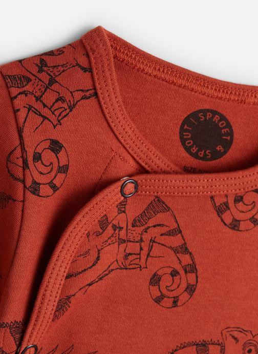 Vêtements Sproet & Sprout Romper Chameleon Orange vue portées chaussures