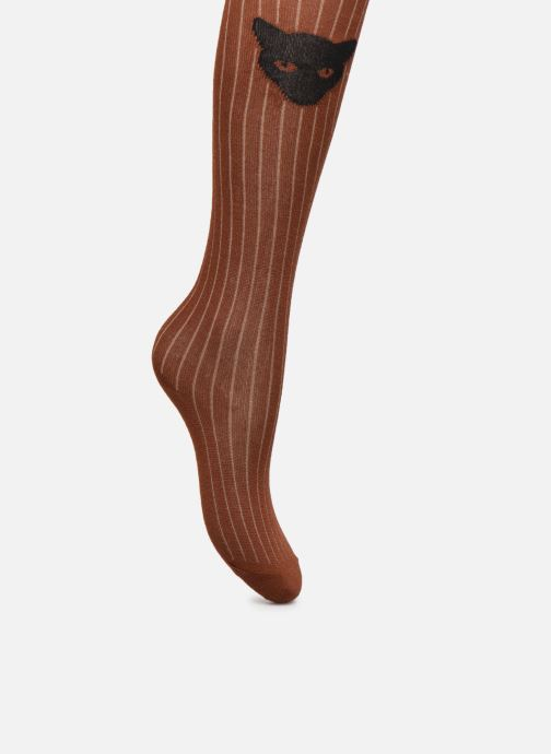 Chaussettes et collants Sproet & Sprout Tights Cat Marron vue détail/paire