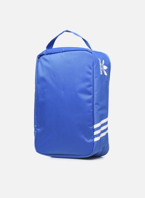 Bagages adidas originals Sneaker Bag Bleu vue droite