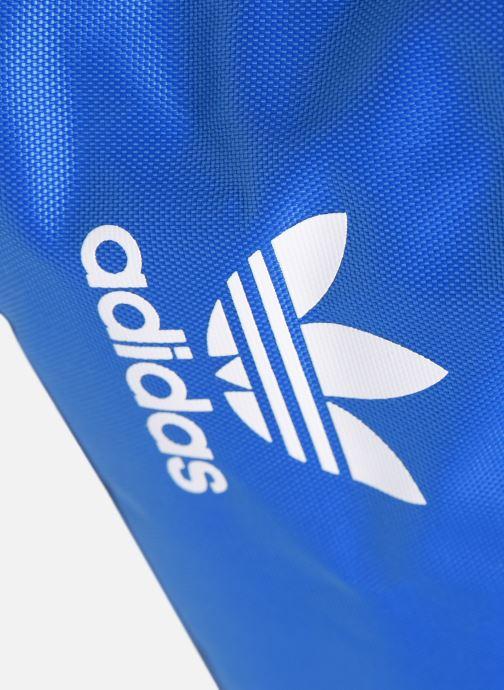 Bagages adidas originals Sneaker Bag Bleu vue gauche