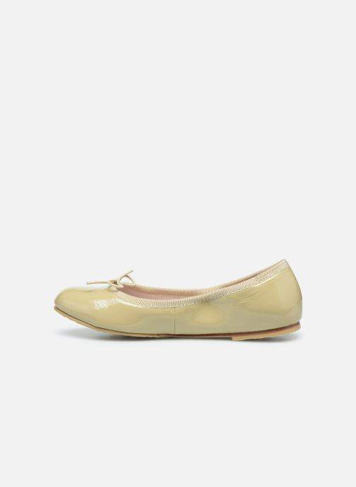 Ballet pumps Bloch Cha Cha Beige front view