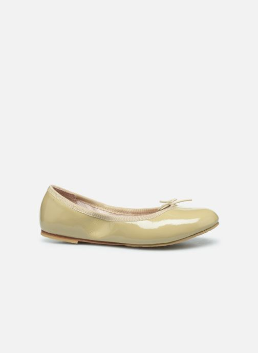 Ballet pumps Bloch Cha Cha Beige back view