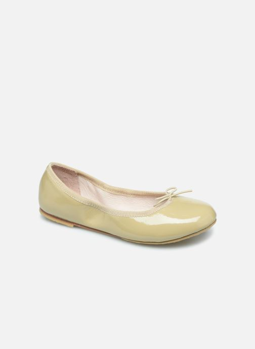 Ballet pumps Bloch Cha Cha Beige detailed view/ Pair view