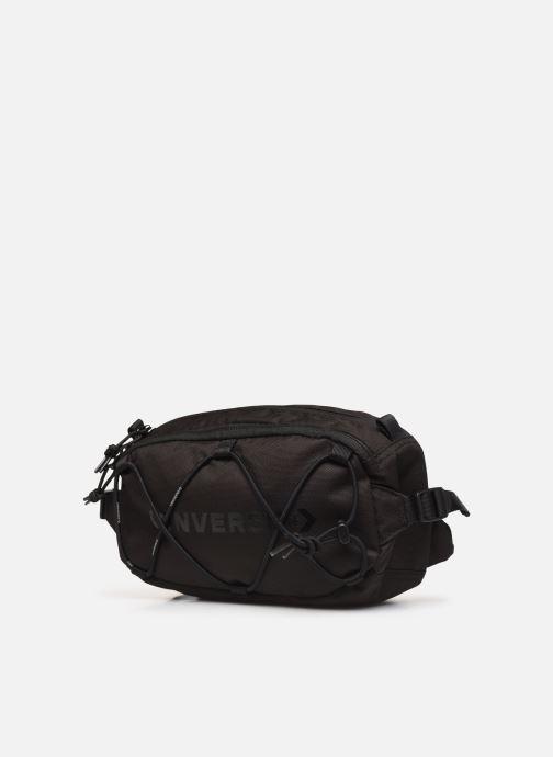 Petite Maroquinerie Converse SWAP OUT SLING Noir vue portées chaussures