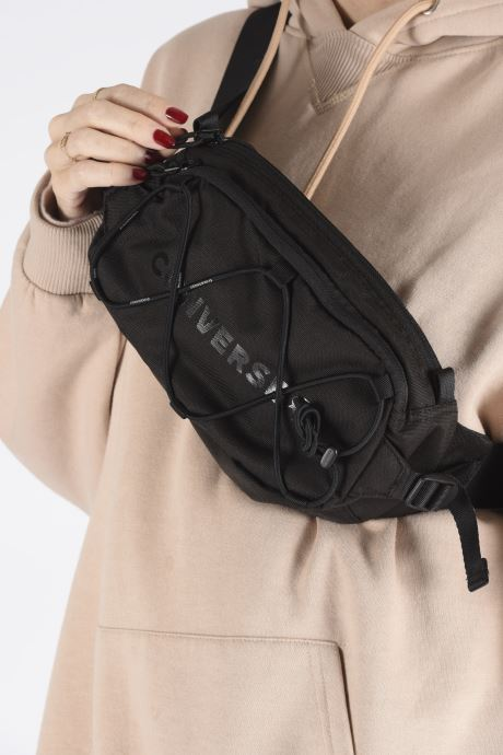 Portemonnaies & Clutches Converse SWAP OUT SLING schwarz ansicht von unten / tasche getragen