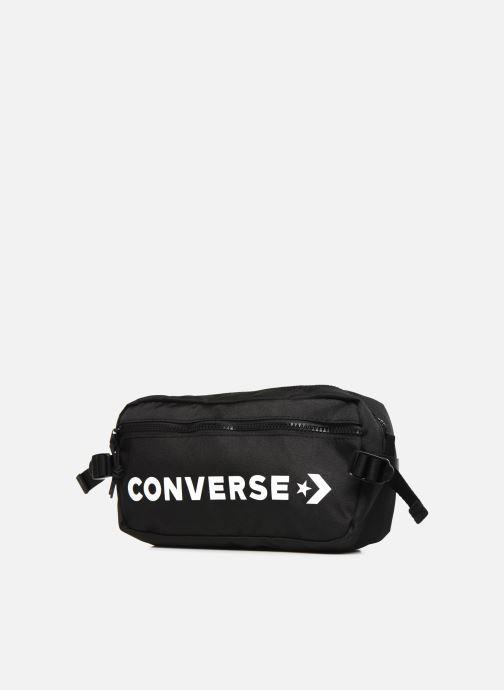 Borse uomo Converse FAST PACK 10006946-A01 Nero modello indossato