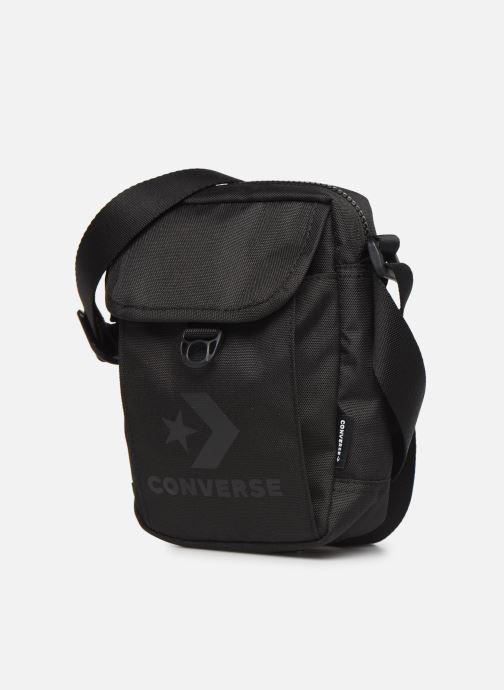 Herrentaschen Converse CROSS BODY 2 schwarz schuhe getragen