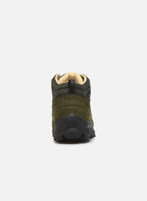 Chaussures de sport HAGLOFS Haglöfs Kummel Proof Eco Men C Vert vue droite