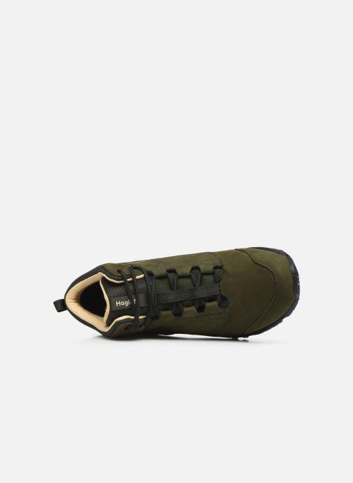 Chaussures de sport HAGLOFS Haglöfs Kummel Proof Eco Men C Vert vue gauche