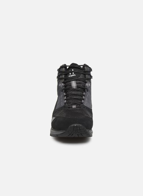 Chaussures de sport HAGLOFS Haglöfs Skuta Mid Proof Eco Men C Noir vue portées chaussures