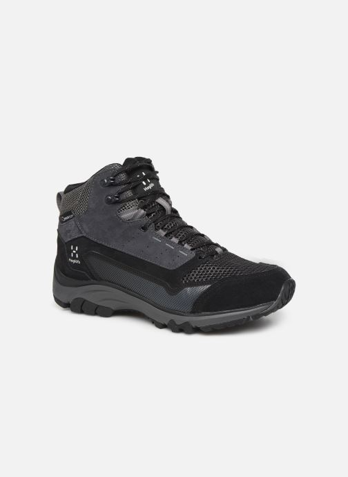 Sport shoes HAGLOFS Haglöfs Skuta Mid Proof Eco Men C Black detailed view/ Pair view