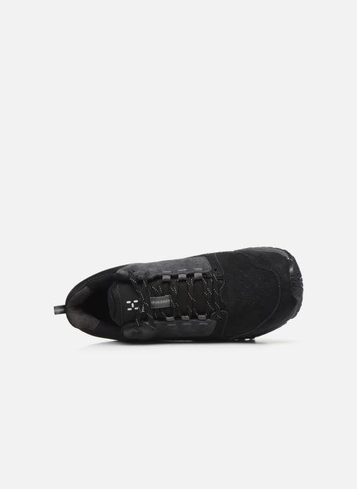 Chaussures de sport HAGLOFS Haglöfs Skuta Low Proof Eco Men C Noir vue gauche
