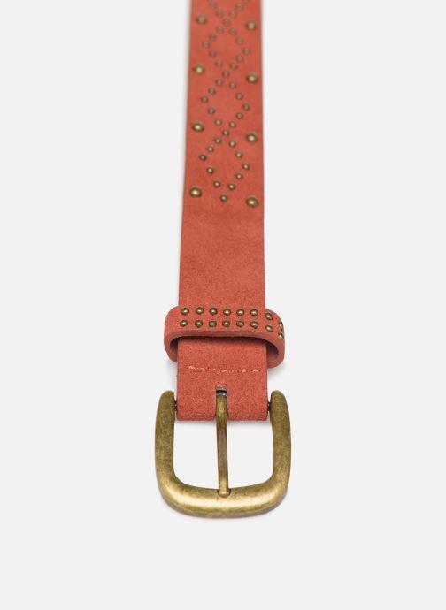 Gürtel Pieces HUJIA SUEDE JEAN BELT rot schuhe getragen