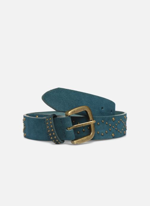Riemen Pieces HUJIA SUEDE JEAN BELT Blauw detail