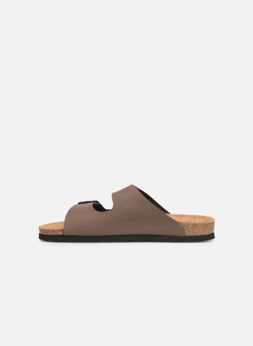 Sandales et nu-pieds Bayton Atlas Marron vue face