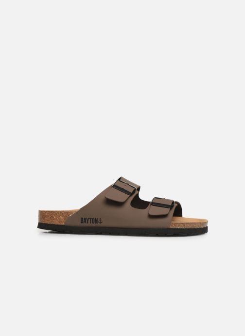 Sandales et nu-pieds Bayton Atlas Marron vue derrière
