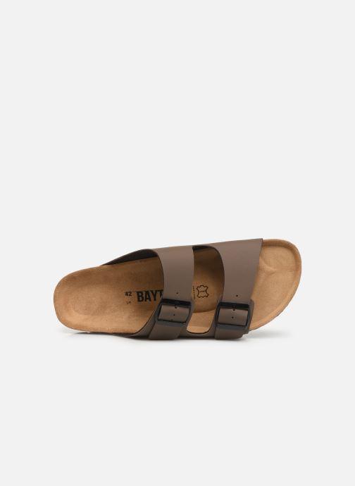 Sandales et nu-pieds Bayton Atlas Marron vue gauche