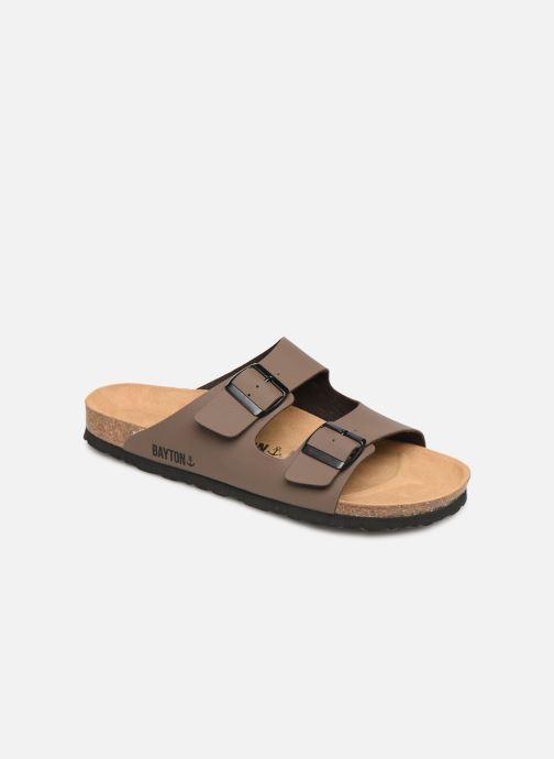 Sandales et nu-pieds Bayton Atlas Marron vue détail/paire