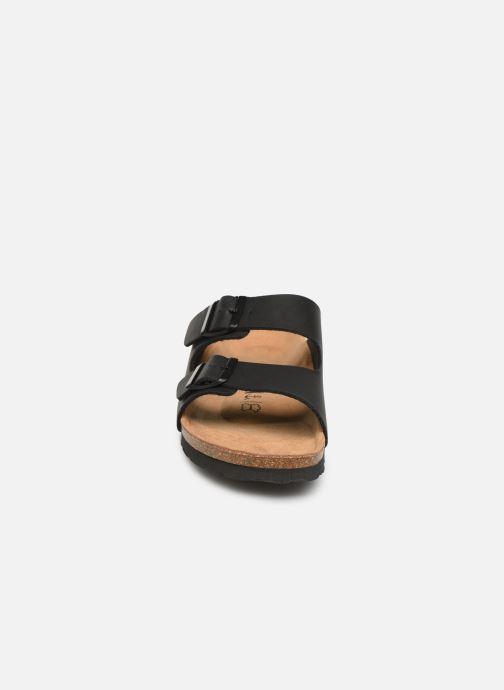 Sandales et nu-pieds Bayton Atlas Noir vue portées chaussures