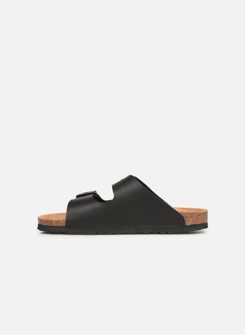 Sandales et nu-pieds Bayton Atlas Noir vue face